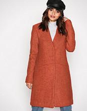 Vila Rød Vitea Wool Boucle Jacket Pb