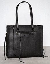 Rebecca Minkoff Svart Always On Side Zip Regan Tote