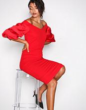 TFNC Red Nisha Dress