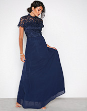 Chi Chi London Navy Charissa Dress