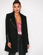 Vero Moda Svart Vmcally 3/4 Jacket Lcs