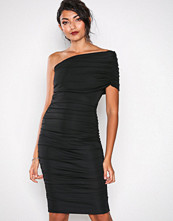 Honor Gold Black Alice Midi Dress