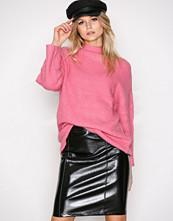Only Svart onlANN Faux Leather Midi Skirt Otw