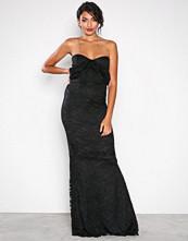 Honor Gold Black Mila Lace Maxi Dress