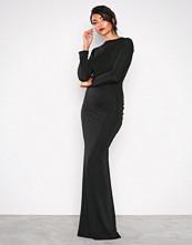 Honor Gold Black Bella Maxi Dress