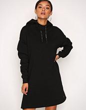 Scotch & Soda Black Hooded Oversized Sweat Dress