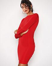 Honor Gold Red Bella Midi Dress