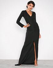 Honor Gold Black Jessica Maxi Dress