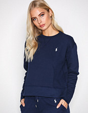 Polo Ralph Lauren Navy Long Sleeve Crew Neck Knit Shirt
