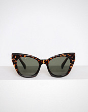 New Look Chocolate Cat Eye Sunglasses