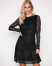 Michael Kors Black Arabesque Floral Dress