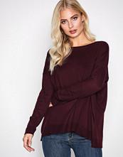Polo Ralph Lauren Wine Long Sleeve Streched Crew Neck Sweater