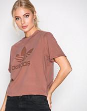 Adidas Originals Rosa Trefoil Tee