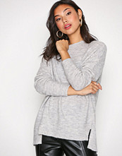 New Look Pale Grey Aspen Longline Jumper