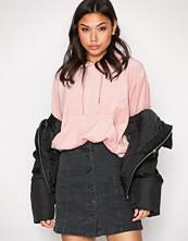 New Look Black A-Line ButtonThru Skirt