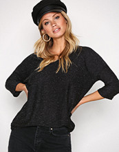 New Look Charcoal Textured Tally V-Neck