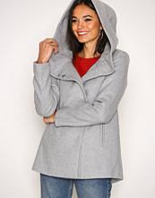 Vero Moda Lys grå Vmcollar Wool Jacket Noos