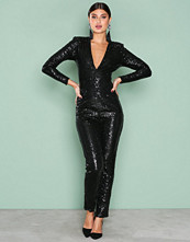 NLY One Svart Sequin Bodysuit