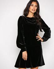 Polo Ralph Lauren Black Long Sleeve Regna Dress