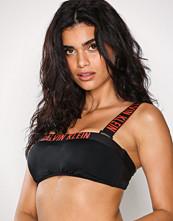 Calvin Klein Svart Bandeau Mesh Bikini Top