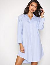 Lauren Ralph Lauren Blå/Hvit Heritage Sleepshirt
