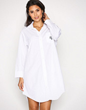 Lauren Ralph Lauren Hvit Heritage Sleepshirt