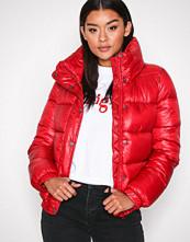 Jacqueline de Yong Rød Jdyroona Cropped Jacket Otw