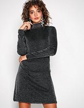 Vila Svart Viglori Vang L/S Dress/1