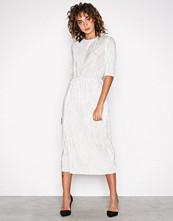 Vila Lys grå Vifrances 2/4 Sleeve Dress/P