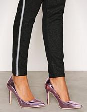 NLY Shoes Metallic Pink Slim Pump