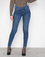 River Island Mid Blue Amelle Super Skinny Jeans