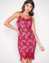 Love Triangle Raspberry Dream Knee Length Dress