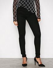 Vero Moda Svart Vmsophia Hw Skinny Jeans Black Noos