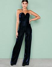 NLY Trend Blå Bustier Jumpsuit