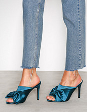 NLY Shoes Emerald Green Wrap Mule