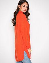 American Vintage Orange Robe COL Montant