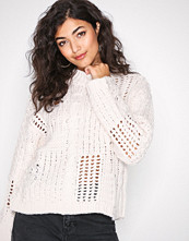 New Look Cream Ladder Cable Knit Jumper