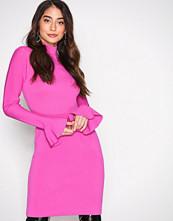 Michael Kors Pink Bell Sleeve Dress