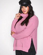 Missguided Pink Roll Neck Knitted Jumper