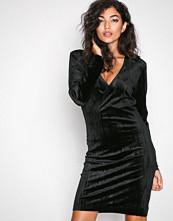 Pieces Svart Pcrimili L/S Dress