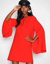 River Island Red LS Swing Dress