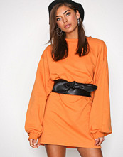 NLY Trend Orange Big Ballon Long Sweat