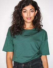 Only Mørk grønn onlSOFIE T-Shirt Ss Jrs