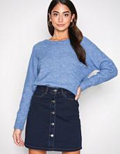 Vero Moda Mørk blå Vmmaya A-Shape Short Denim Skirt Sh