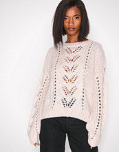 New Look Light Beige Balloon Sleeve Jumper