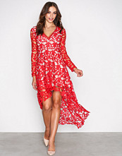Love Triangle Red Opulent Dress