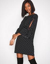 New Look Black Polka Dot Tunic Dress
