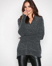By Malene Birger Dark Grey Melange Zonia Knitwear