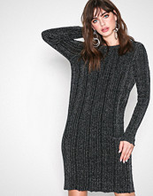 Vila Svart Vimarbel L/S Knit Dress