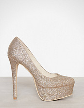 NLY Shoes Glitter Platform Pump